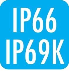Schutzart: IP66 / IP69K
