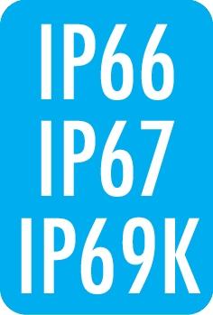 Schutzart: IP66 / IP67 / IP69K