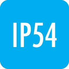 Degree of protection: IP54