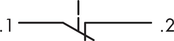 Schlegel Elektrokontakt Modular Contact Block Momentary MTO