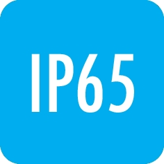 Degree of protection: IP65