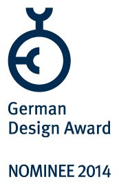 German Design Award 2014 Nominiert